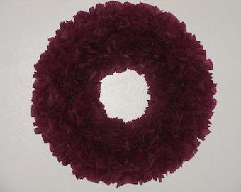 Berry Wreath --- Outdoor Wreath --- Wine Wreath --- Door Wreath --- Indoor Outdoor Wreath --- Winter Wreath --- Burgundy Wreath