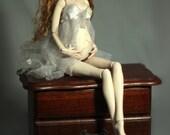 SE BJD Porcelain Pregnant Forgotten Hearts Ball Jointed Doll