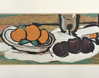 Georges Braque Serigraph Stencil 1950