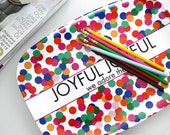 Joyful Joyful We Adore Thee, Melamine Tray, 10x14inch