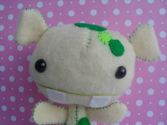 Plush Monster Alien Doll Softie Stuffed Animal Halloween Sci Fi Geekery