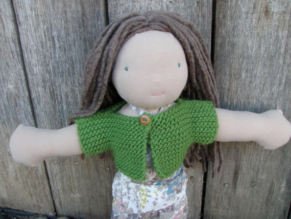 Super Easy Beginner Doll Sweater Pattern/Tutorial