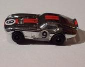 Vintage Aurora AFX Daytona Coupe Ho Slot Car - Chrome