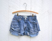 RESERVED for JESSICA Vintage LEVI denim cutoff shorts
