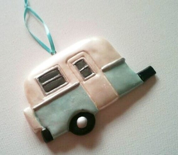 Vintage Travel Trailer Ornament
