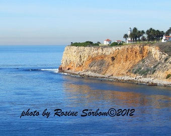 Point Vicente Lighthouse, Palos Verdes California, card no.4406