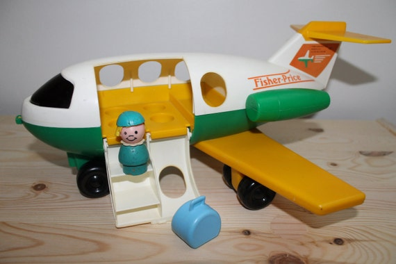Fisher Price Airplane RESERVED for Marian Kwok