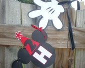 Mickey Mouse Birthday Banner-PERSONALIZED
