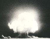1st Atomic Bomb Explosion Los Alamos New Mexico Photo
