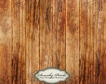 5ft x 5ft Vinyl Backdrop WOOD FLOORDROP Floor Scuffed Wood Vintage