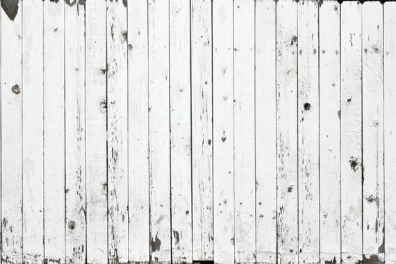LARGE 5ft x 4ft White Fence Floor Floordrop Vinyl Backdrops Newborn / Children / Photography