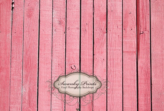 4ft x 3ft Vinyl Photography Backdrop / Pink Wood Floor / Perfect for Newborn or Childrens Pictures