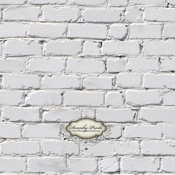 3ft x 3ft Vinyl Photography Backdrop for Accessories, product pictures White Brick