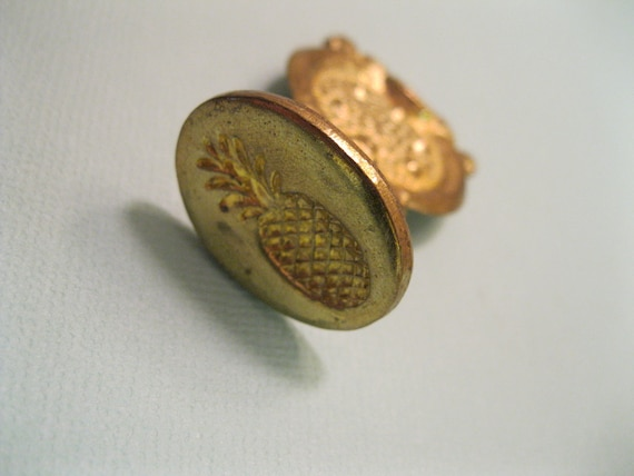 Pineapple Oval Wax Seal Stamp