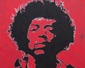 Jimi Hendrix Oil Painting 2