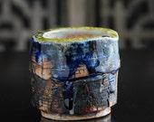Shino Cup Birr ( Ceramic Stoneware Pottery )