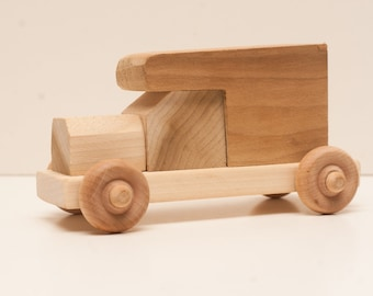 Handcrafted Wooden Truck