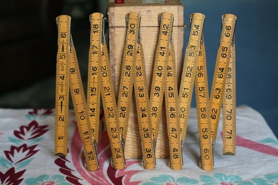 Wooden Expandable Measuring Stick Ruler