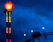 Night Rider,  Cobalt Blue Sky 8x10 Photography
