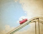 Pink Car at the Carnival- 8 x10 Photography Art Print