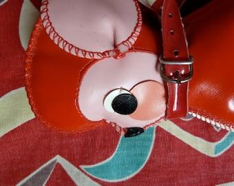 Adorable Vintage rubber purse/Wallet monkey/Mouse
