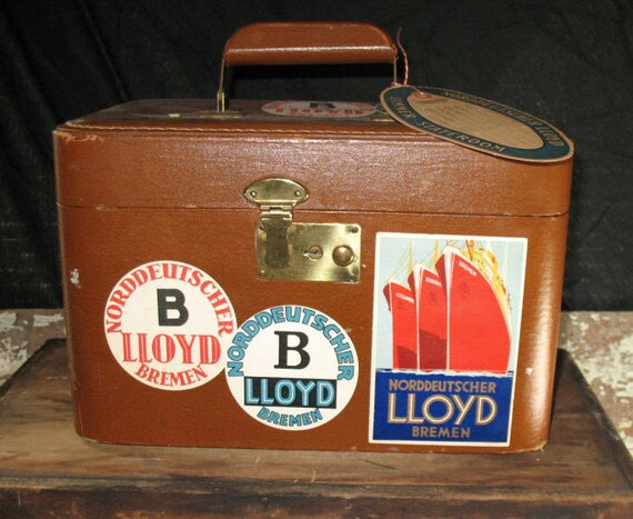 Vintage Luggage Travel Case