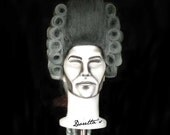 Male / Female Wig White & Grey  - 700 Rococo Baroque style - Big curls and rolls - Doretta's creations (MADE TO ORDER)