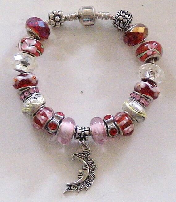 Celebrate your Inner GODDESS/  European style CHARM Bracelet/  Custom Order Item