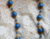 RESERVED FOR MARIAEMMANUELLI Something Blue Pearls