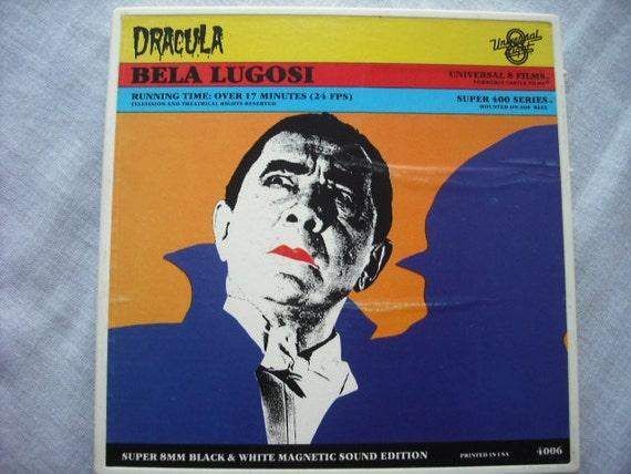 Vintage Dracula Bela Lugosi Super 8 Film RESERVED