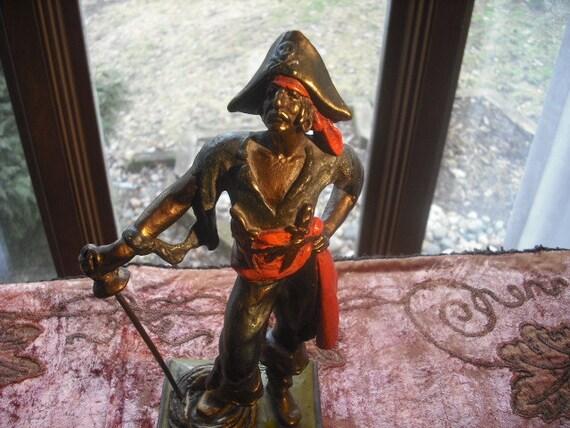 Paul Herzel Pompeian Bronze Pirate Sculpture