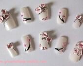 Japanese 3D Nail Art Set - Cherry Blossom