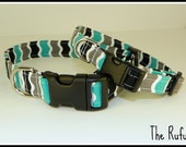 "The Rufus 1"" Dog Collar - Your Choice of Medium or Large"