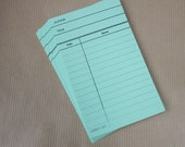 25 Green Library Cards