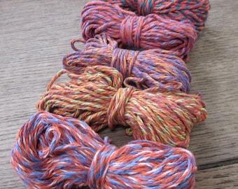 Bright Pink and Orange Cotton String