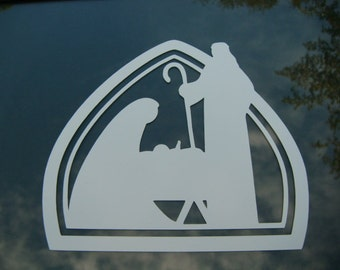 Nativity Decal