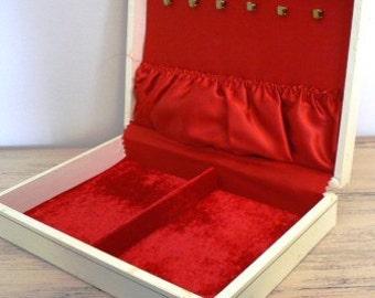 vintage jewels ...  Lovely VINTAGE JEWELRY BOX 2 Sweet ...