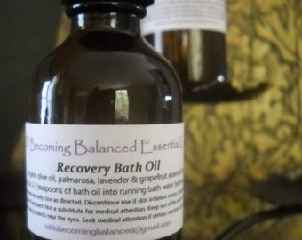 Recovery Bath Oil