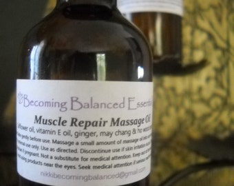 Muscle Repair Massage Oil