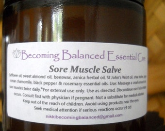 Sore Muscle Salve