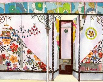 Front Room - PRINT of original artwork