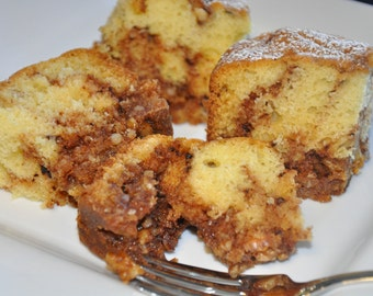 Coffee Cake Brown Sugar Cinnamon  Walnuts Fresh and Delicious Loaf