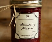 Jam - Homemade Strawberry Jam Preserve