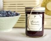 Jam - Homemade Lavender Blueberry Jam Preserve