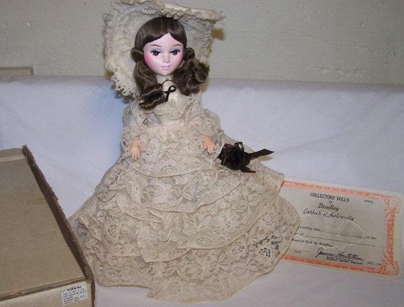 vintage bradley musical doll md414 in original box
