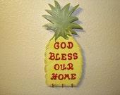 Wood Pineapple