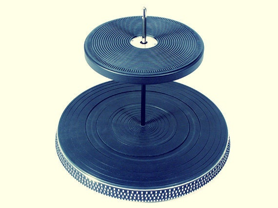 Vintage Turntables - Two-Tier Server from The Audio Buffet Line