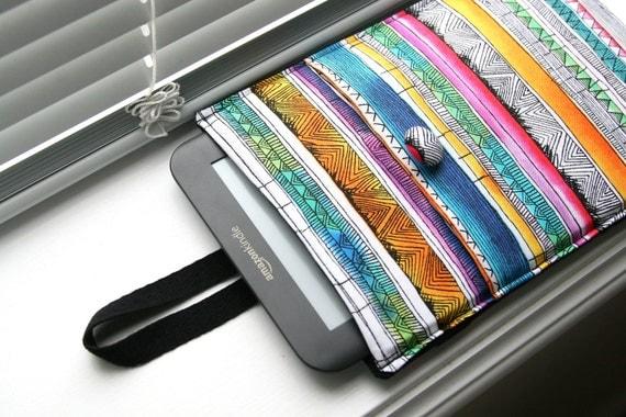 Kindle Case / Kindle Cover / Kindle Sleeve /  Kindle Fire HD / Kindle Paperwhite - Tribal