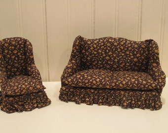 Doll House Sofa and Chair