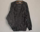 Knitted Maze Cardigan